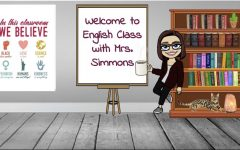 Sarah Simmons has managed the various remote learning platforms with ease and positivity, as seen here in her Bitmoji classroom