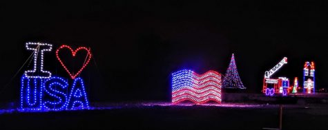Over a mile of roadway in Waltham is transformed into glittering display of more than a million lights