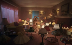 A scene from the video to