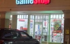 Despite being the focus of a wild swing in value and attention in the stock market, brick-and-mortar GameStop storefronts remain relatively empty and ignored.