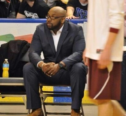 EHS vice principal Cory McCarthy is shown here during his previous tenure as head basketball coach at New Mission High School in Boston.